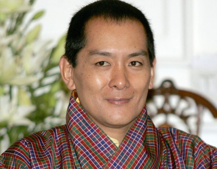 Jigme Singye Wangchuck was king of Bhutan from 1972 to 2006. Photo from 2005.