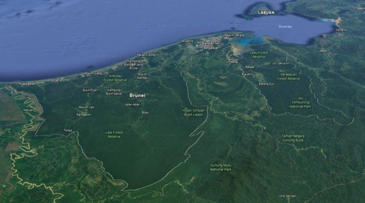 Geography of Brunei