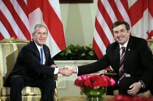 Georgia President Mikhail Saakashvili