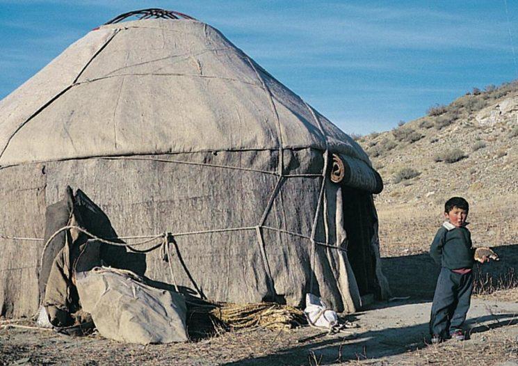 The yurts