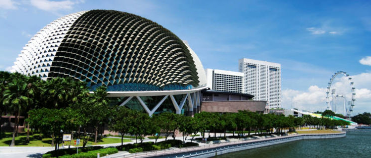 Esplanade theaters on the bay, Singapore