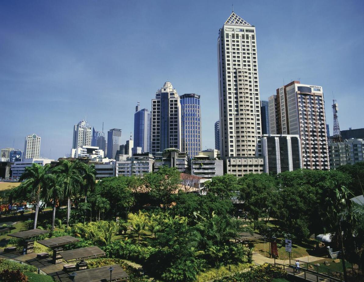 From Manila, the country's capital and largest city.