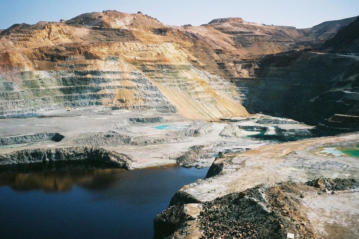 kiriotissa copper mines in Cyprus