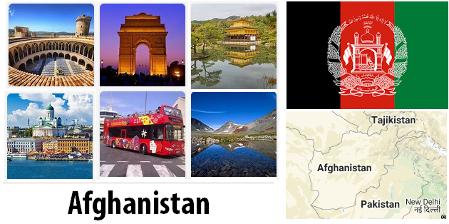 Afghanistan Sightseeing Places