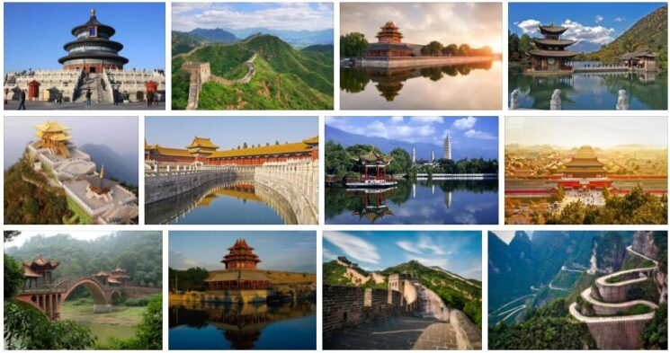 China Sightseeing Places