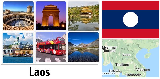 Laos Sightseeing Places