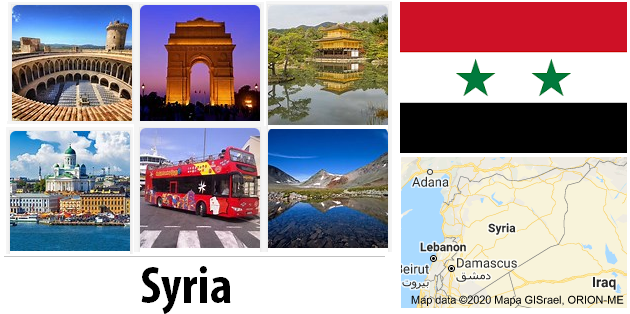 Syria Sightseeing Places