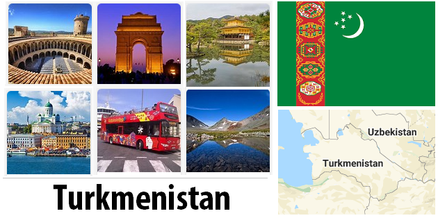 Turkmenistan Sightseeing Places