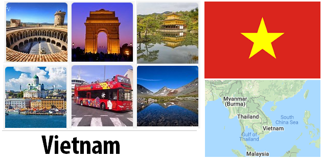 Vietnam Sightseeing Places
