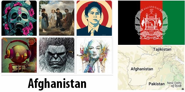 Afghanistan Arts and Literature