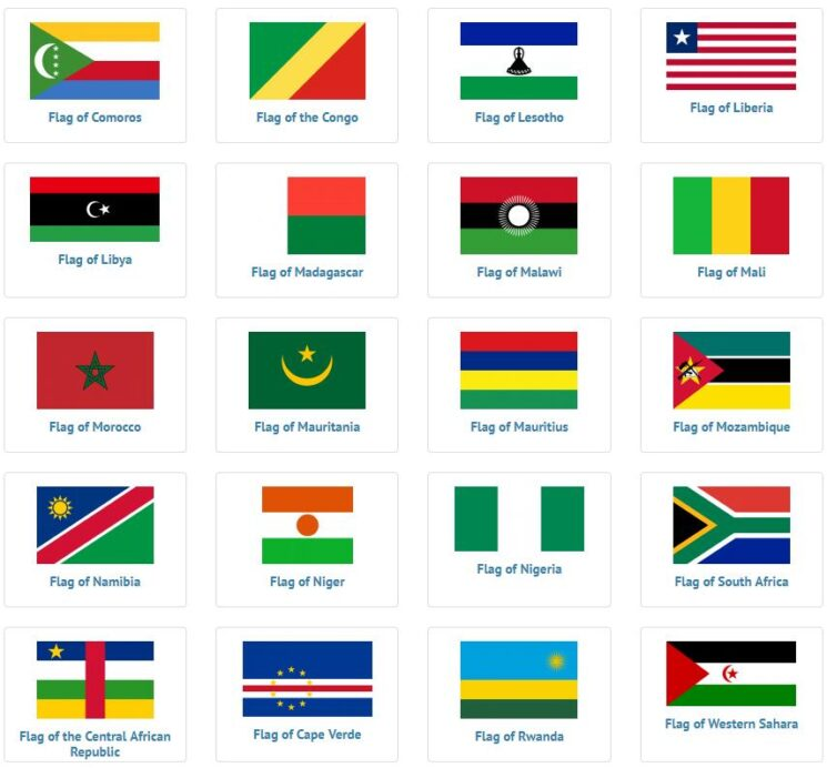 African Flags 2