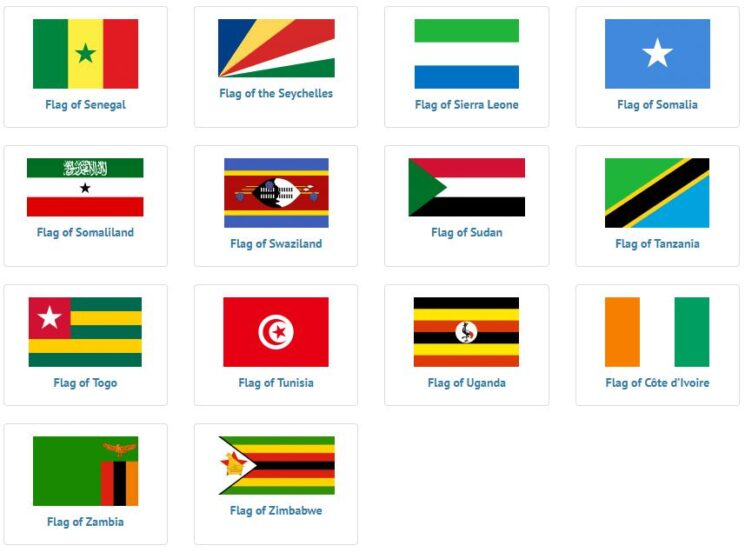 African Flags 3