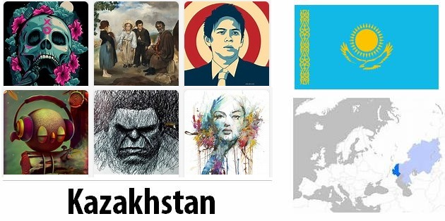 Kazakhstan Arts and Literature