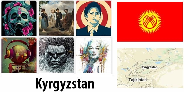 Kyrgyzstan Arts and Literature