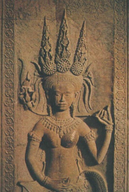 Relief of an apsara