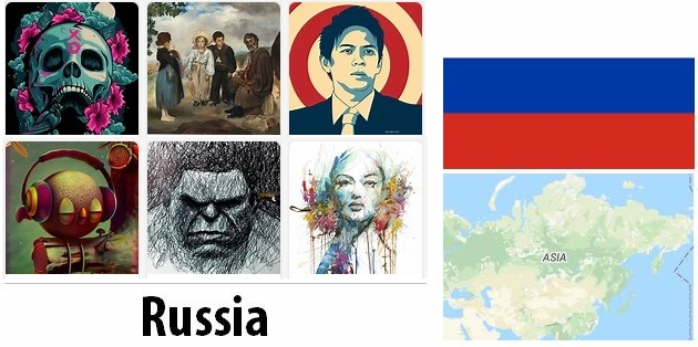 Russia Arts and Literature