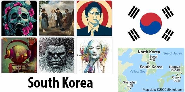 South Korea Arts and Literature