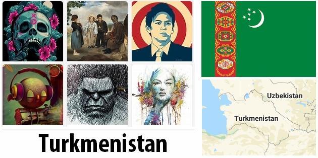 Turkmenistan Arts and Literature