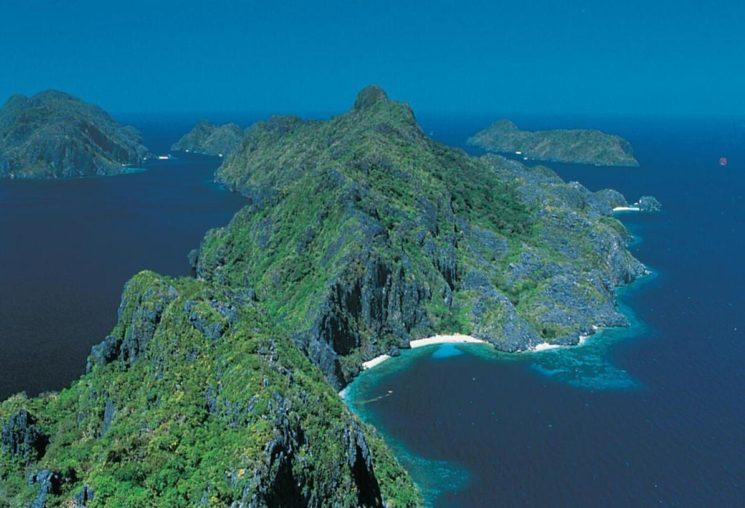 The island of Palawan