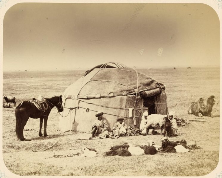 Kasakher in traditional herb in the 1860s