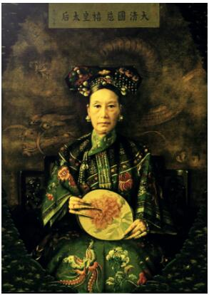 China The Dowager Empress Cixi