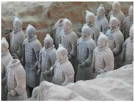 Terracotta Army of the First Emperor in China