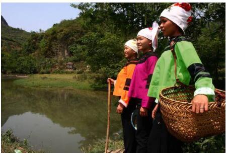 China Members of the Zhuang minority