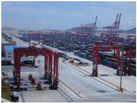 China Shanghai port