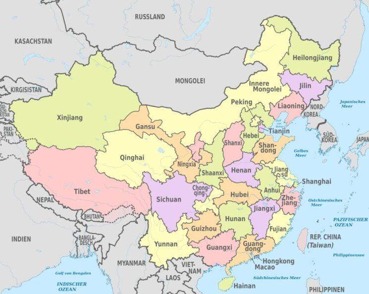 China's provinces