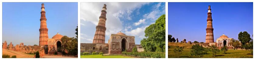 Kutub Minar in Delhi